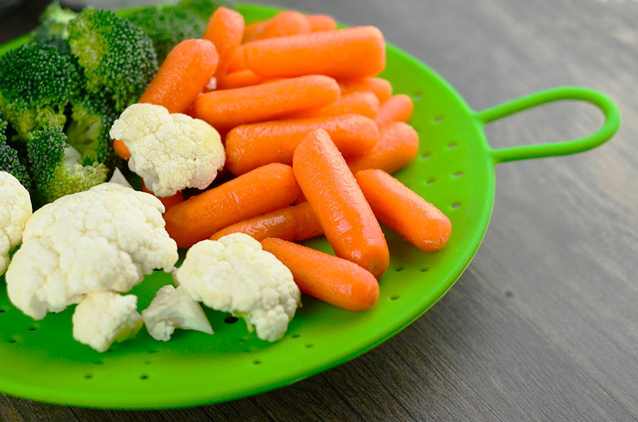 Como cocinar vegetales al vapor