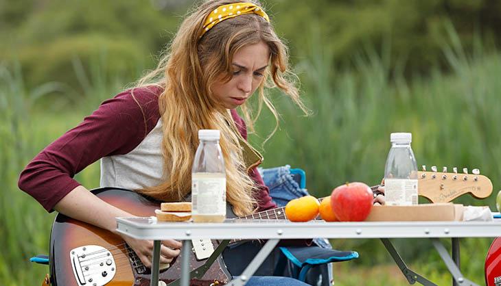 Laura y su guitarra
