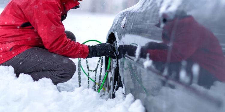 Conducir con nieve seguridad