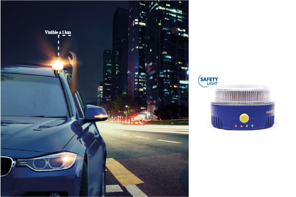 Emporta't un llum d'emergència amb la teva assegurança de cotxe