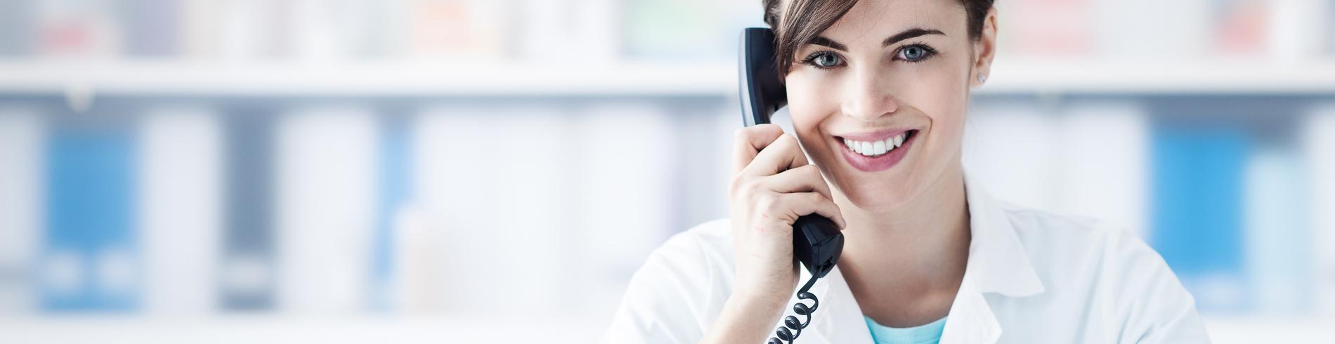 Servicio de atención médica por teléfono